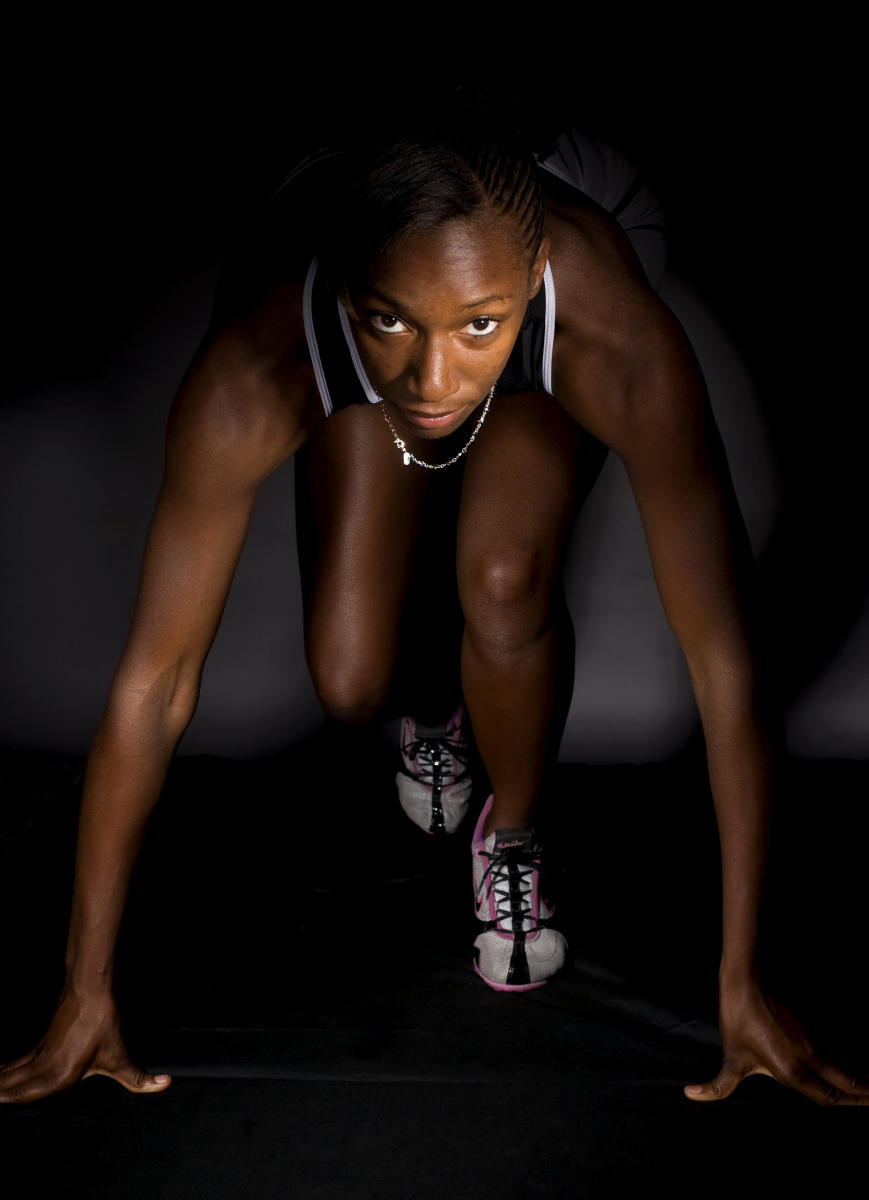Zephyrhills' Jamieshia Parker, 16, of Zephyrhills, Fla., is the 2010 North Suncoast girls track athlete of the year.